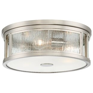 Orren Ellis Cayeman 3-Light Flush Mount