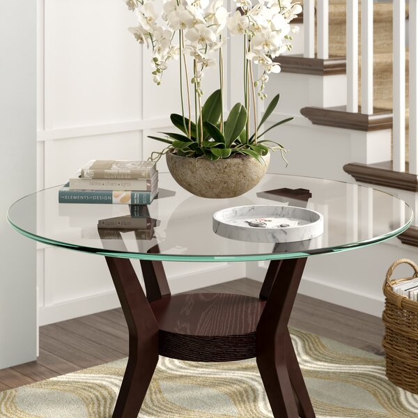 Symple Stuff Round Glass Indoor Table Top & Reviews | Wayfair