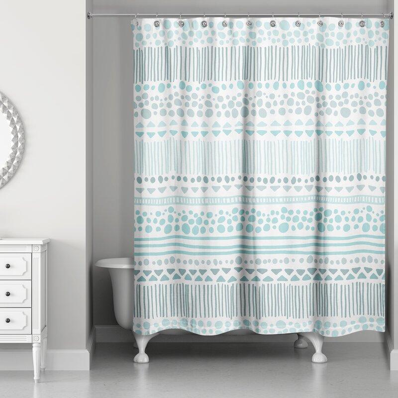 Remus Boho Tribal Single Shower Curtain