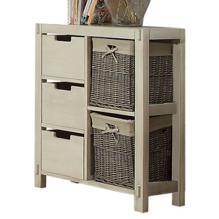 Eastpoint 3 Drawer 2 Basket Chest by Rosecliff Heights