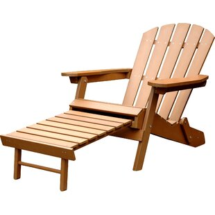 Merry Products Faux Plastic Adirondack Chair
