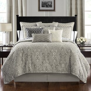 Bainbridge 4 Piece Reversible Comforter Set by Waterford Bedding