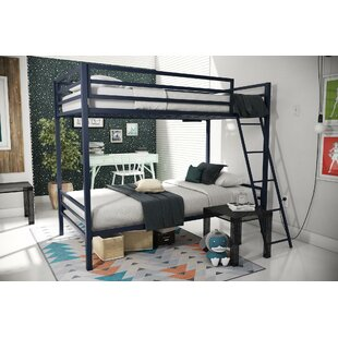 Maxwell Metal Twin Over Twin Bunk Bed