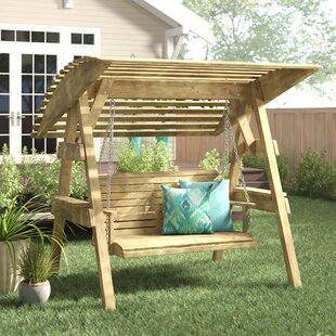 Tony Swing Seat With Stand By Freeport Park