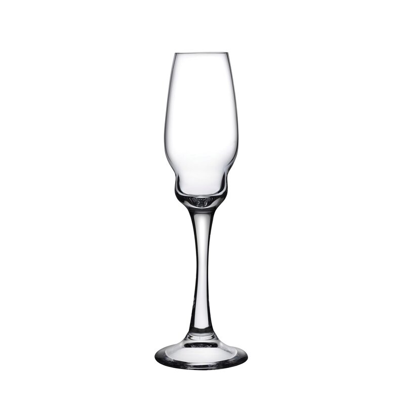 Nude Heads Up Champagne 8 Oz Crystal Flute Wayfair