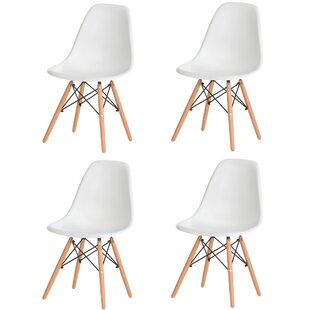 Bailee Mid Century Modern Retro Dining Chair (Set of 4)