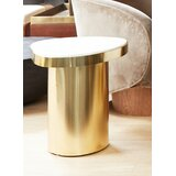 Fortuna Drum End Table by Everly Quinn