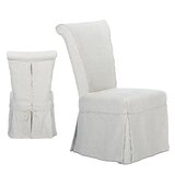 Leila Upholstered Dining Chair (Set of 2) by Ophelia & Co.