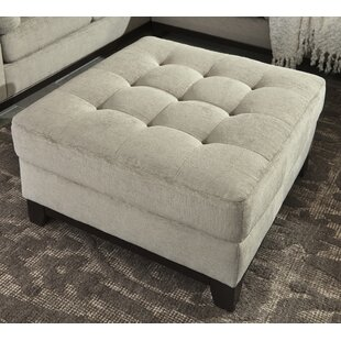 Tindell Cocktail Ottoman by Charlton Home