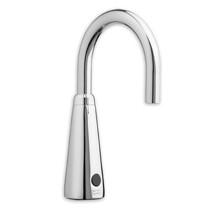 Bathroom Faucet Gooseneck modern gooseneck bathroom faucet | wayfair