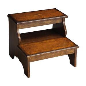 Copley 2-Step Wood Step Stool with 85 lb. Load Capacity  sc 1 st  Wayfair & Ladders u0026 Step Stools Youu0027ll Love | Wayfair islam-shia.org