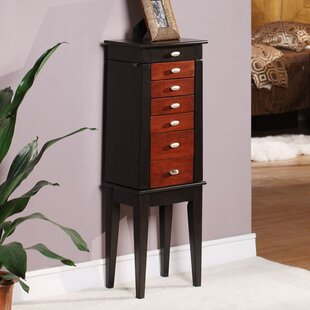 Southport Jewelry Armoire with Mirror