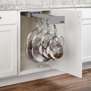 Rev-A-Shelf Soft Close Cookware Organizer Hook