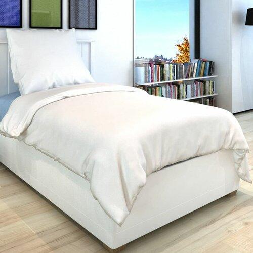 Bettbezug-Set Wiebe 17 Stories Farbe: Weiß  Größe des Kissens: 80 B x 80 L cm  Größe des Bettbezugs: 135 B x 200 L cm   Heimtextilien > Bettwäsche und Laken > Wendebettwäsche   17 Stories