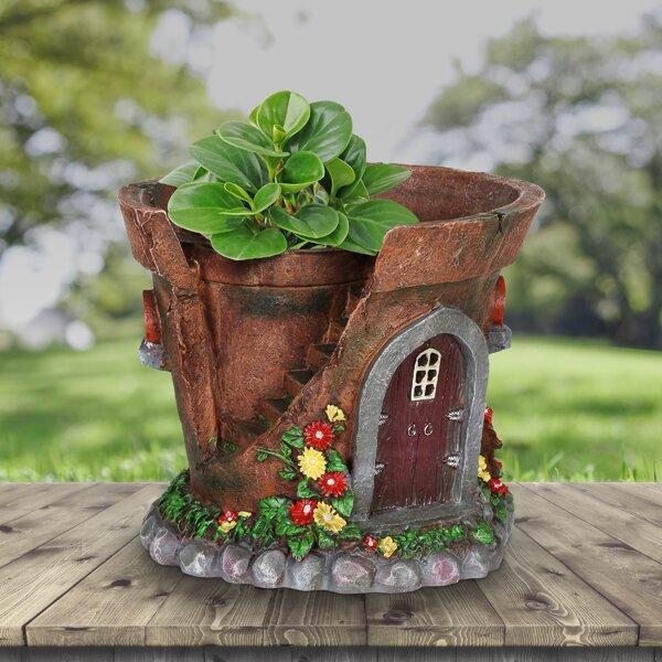 Fantasy Light Up Triple Tower House Fairy Garden Mini