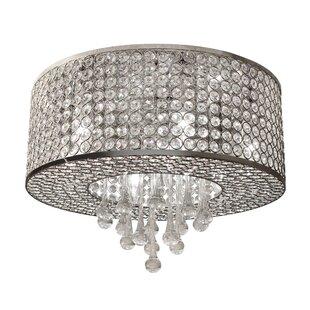 LightUpMyHome 6-Light Crystal Chandelier