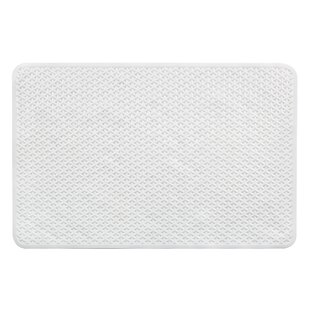 Incroyable Vinyl Non Slip Lattice Design Shower Mat With Ultra Secure Suction Cups