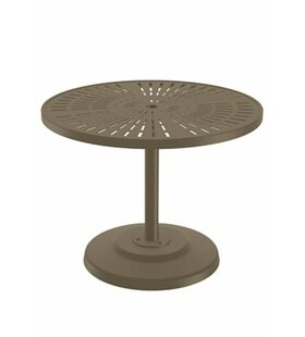 La'Stratta Aluminum Dining Table by Tropitone Today Sale Only