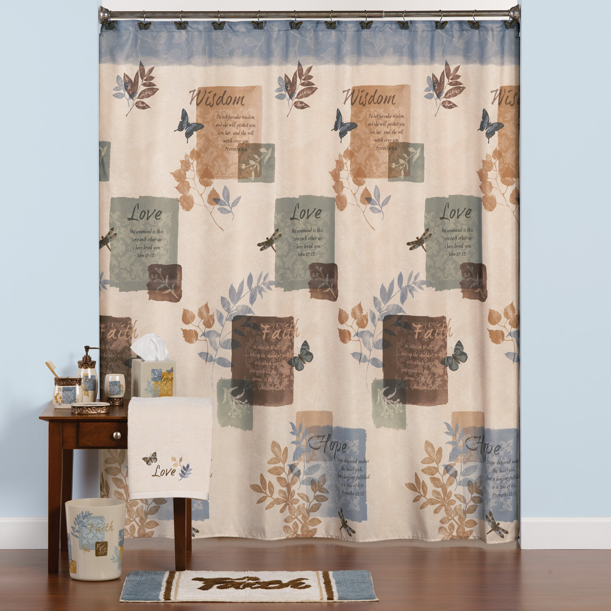 Saturday Knight Faith Shower Curtain Reviews