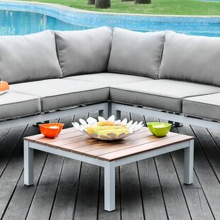 Wade Logan Coriander Sectional Set with Cushions