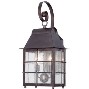 Price comparison Lelystad 2-Light Outdoor Wall Lantern By World Menagerie
