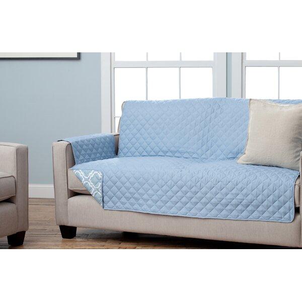 Andover Mills Scroll Box Cushion Sofa Slipcover U0026 Reviews | Wayfair