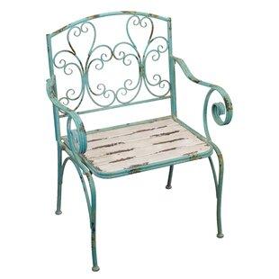 Regal Art & Gift Fleur de Lis Patio Chair