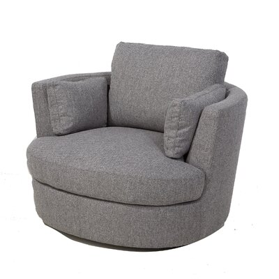 Maughan Swivel Barrel Chair