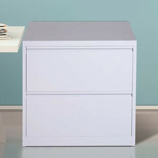 Donita Metal 2 Drawer Lateral Filing Cabinet