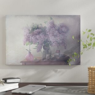 Lilacs & Michigan Canvas Art You'll Love | Wayfair
