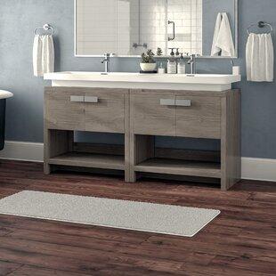 Haycraft 63 Double Bathroom Vanity Set By Orren Ellis