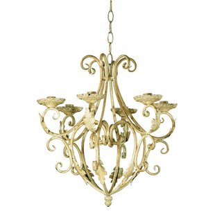 Astoria Grand Dirraw Regal 6-Light Candle Style Chandelier