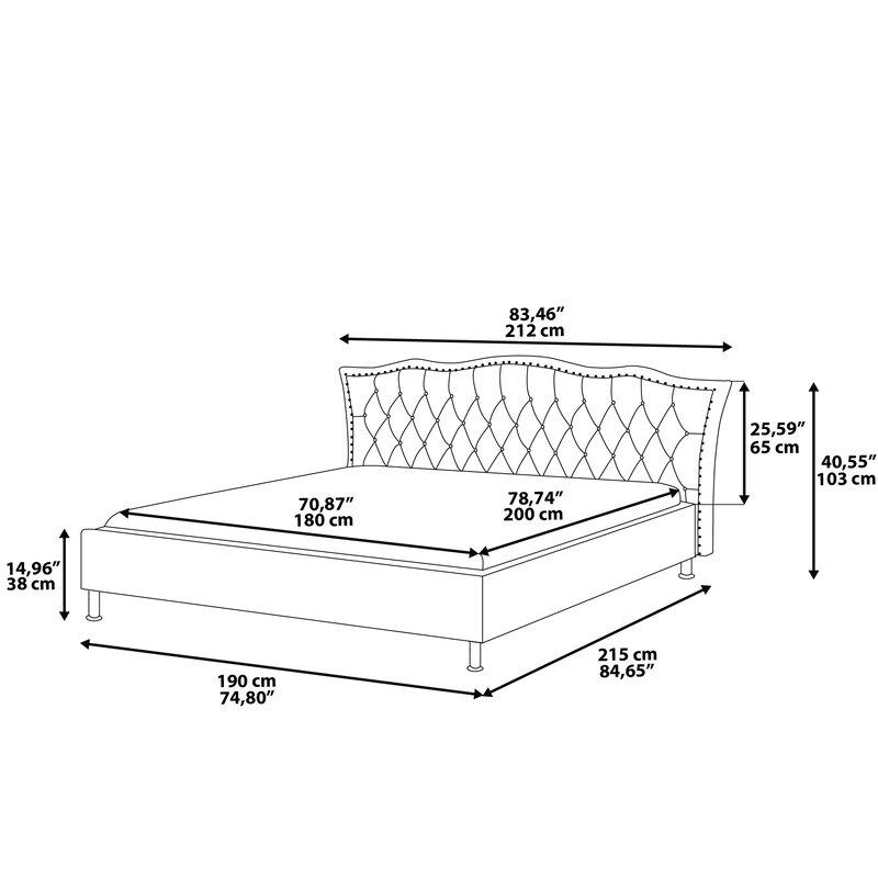 Home Loft Concept Bettrahmen mit Stauraum   Wayfair.de