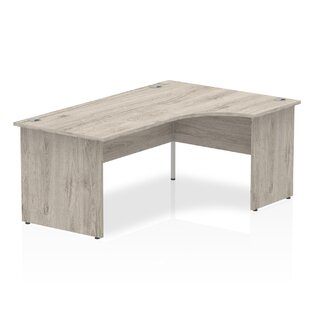Zetta L-Shaped Executive Desk By Ebern Designs
