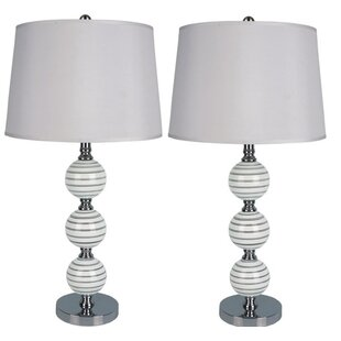 Shailja Stacked Orb 29 Table Lamp (Set of 2)