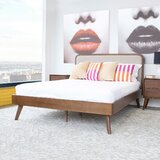 Baggs Queen Upholstered Platform Bed by George Oliver