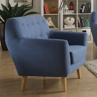 Barefoot Linen Armchair by George Oliver