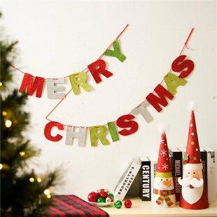 eva merry christmas garlands