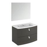 Durham Contemporary 32 Single Bathroom Vanity Set with Mirror by Orren Ellis