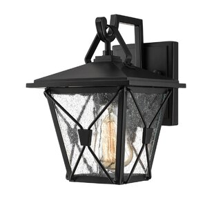 Gracie Oaks Mae Outdoor Wall Lantern