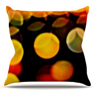 Lights By Maynard Logan Outdoor Throw Pillow by East Urban Home