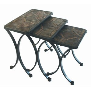 Charming Brookshire 3 Piece Nesting Tables