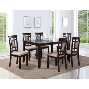 Belmont 7 Piece Dining Set by Bloomsbury Market