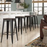 Johannes 30 Bar Stool (Set of 4) by Williston Forge