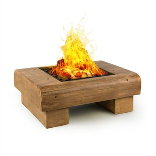Lombardia Steel Charcoal And Wood Burning Fire Pit By Blumfeldt