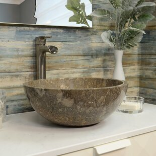 Find the perfect Marble Stone Circular Vessel Bathroom Sink By Onyx Marble Designs