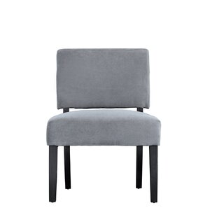 Branchdale Contemporary Sleek Linen Side Chair by Winston Porter