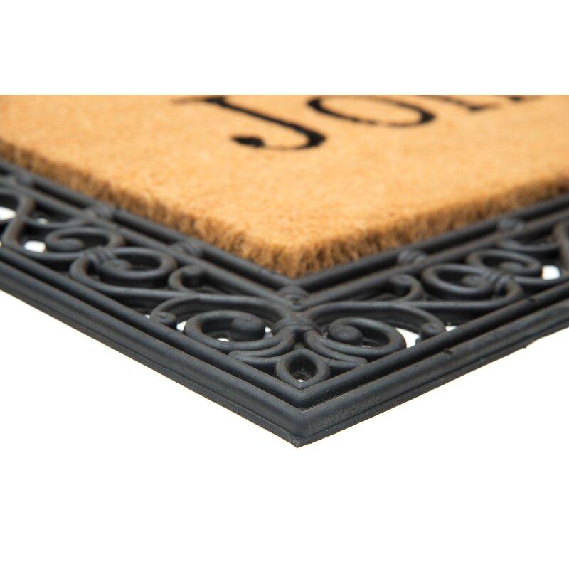 YourOwn Custom Rubber Welcome Doormat