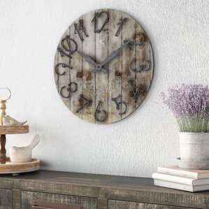 Living Room Wall Clocks wall clocks you'll love | wayfair