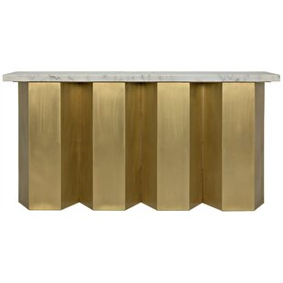 Noir Shilo Console Table